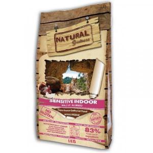 Natural Greatness Sensitive Indoor Сухой корм для кошек Индейка