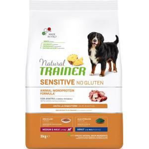 Natural Trainer Sensitive Adult Medium/Maxi Duck для взрослых собак средних и крупных пород Утка