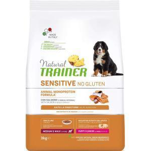 Natural Trainer Sensitive Puppy&Junior Medium/Maxi Duck для щенков средних и крупных пород Утка