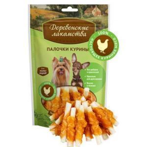 Палочки куриные лакомство для собак мини-пород