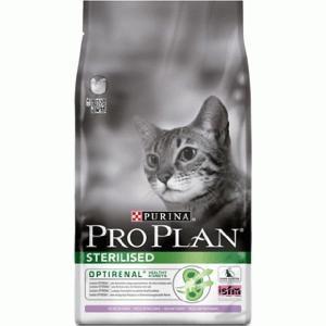 Pro Plan Sterilised сухой корм для кошек кастрированных и стерилизованных Индейка