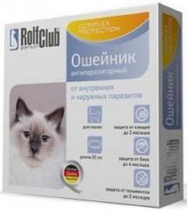 RolfClub 3D ошейник антипаразитарный для кошек