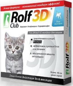 RolfClub 3D ошейник от клещей и блох