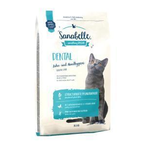 Sanabelle Dental сухой корм для поддержания гигиены полости рта у кошек