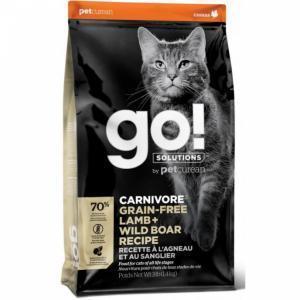 Сухой корм для кошек GO! Carnivore, беззерновой, с ягненком и мясом дикого кабана