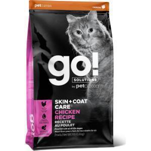Сухой корм для кошек Go! Skin + Coat Chicken Recipe for с курицей, фруктами и овощами