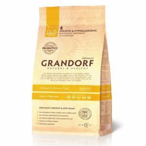 Сухой корм для кошек Grandorf Probiotic Sterilised