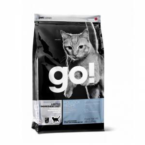 Сухой корм для кошек и котят GO! Sensitivities Limited Ingredient, беззерновой, при чувствительном пищеварении, с минтаем