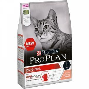 Сухой корм для кошек Purina Pro Plan Adult Feline Salmon