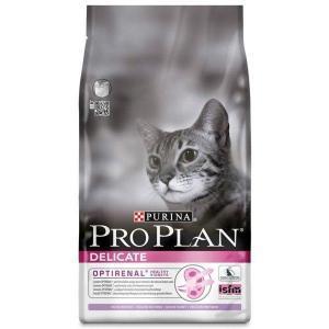 Сухой корм для кошек Purina Pro Plan Delicate при чувствительном пищеварении, с индейкой