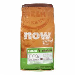 Сухой корм для котят Now FRESH Grain Free Kitten Food