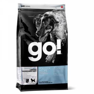 Сухой корм для собак GO! Sensitivities Limited Ingredient, беззерновой, чувствительное пищеварение, минтай