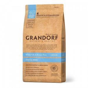 Сухой корм для собак Grandorf White Fish&Rice
