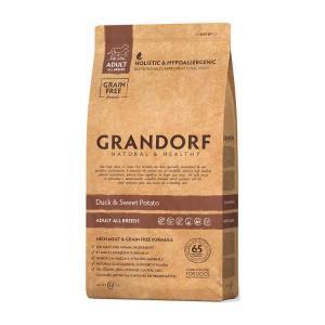 Сухой корм GRANDORF Duck&Potato Adult All Breeds для собак всех пород, Утка/Батат