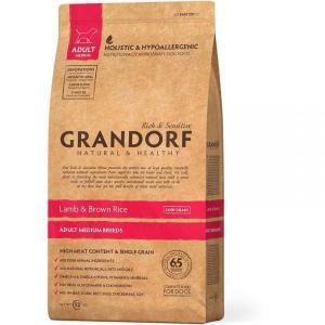Сухой корм GRANDORF Lamb&Rice Adult Medium для собак средних пород, Ягненок/Рис