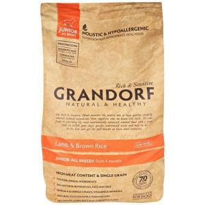 Сухой корм GRANDORF Lamb&Rice Junior All Breeds для юниоров всех пород, Ягненок/Рис