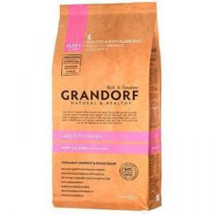 Сухой корм GRANDORF Lamb&Rice Puppy All Breeds для щенков всех пород, Ягненок/Рис