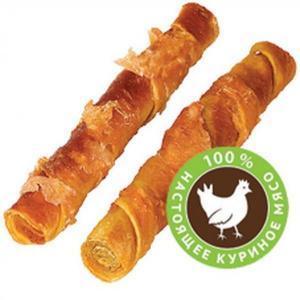 Сушеные куриные твистеры лакомство для собак 2 шт.