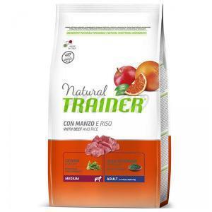 Trainer Natural Adult Medium with Beef and Rice сухой корм для собак