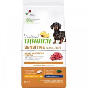 Trainer Sensitive No Gluten Adult Mini Lamb сухой корм для собак для маленьких пород с ягненком