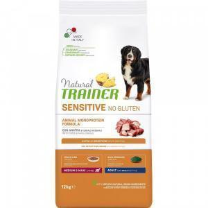 Trainer Sensitive No Gluten Medium&Maxi Adult Lamb сухой корм для собак