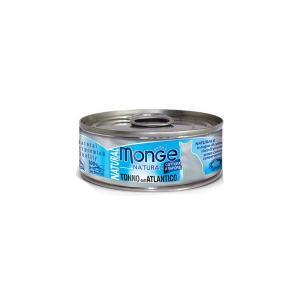 Влажный корм для кошек Monge Natural атлантический тунец