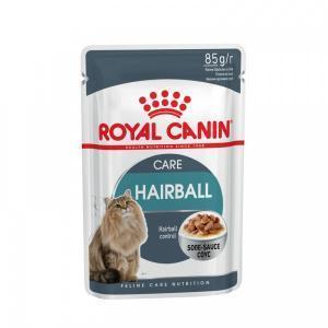 Влажный корм для кошек Royal Canin Hairball Care Gravy соус