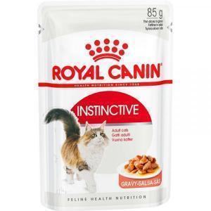 Влажный Корм для кошек Royal Canin Instinctive для профилактики МКБ (кусочки в соусе)