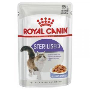Влажный Корм для кошек Royal Canin Sterilised (в желе)