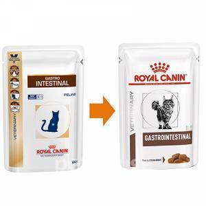 Влажный корм Royal Canin Gastro Intestinal пауч для кошек при нарушении пищеварения