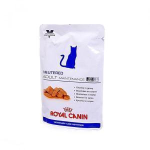 Влажный Royal Canin Neutered Adult Maintenance пауч для кастрированных котов и стерилизованных кошек до 7лет